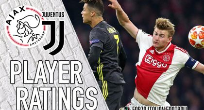 Ajax player ratings: Neres pounces to peg back Juventus