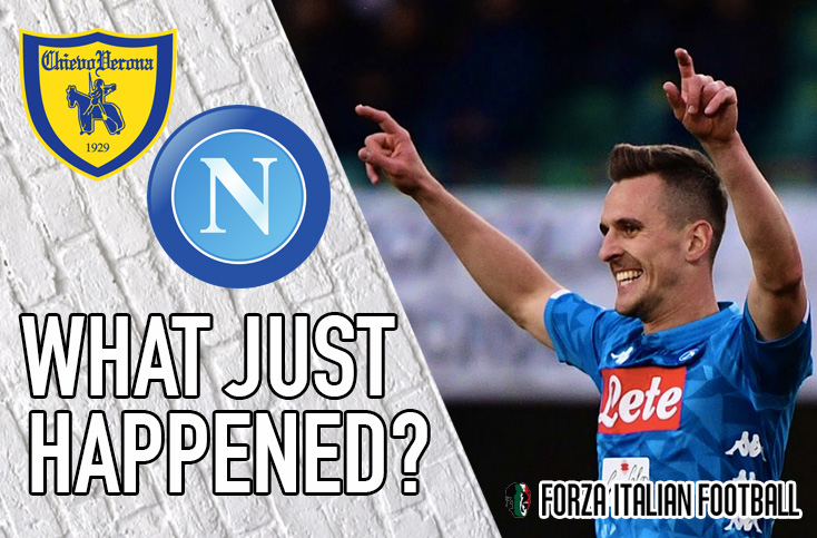 VIDEO: Chievo 1-3 Napoli – Flying Donkeys crash down to earth and out of Serie A