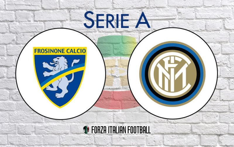 Frosinone v Inter: Official Line-Ups