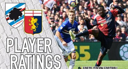Genoa Player Ratings: Romero Gallant in Defeat