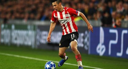 Napoli turn their attention back to PSV Eindhoven winger