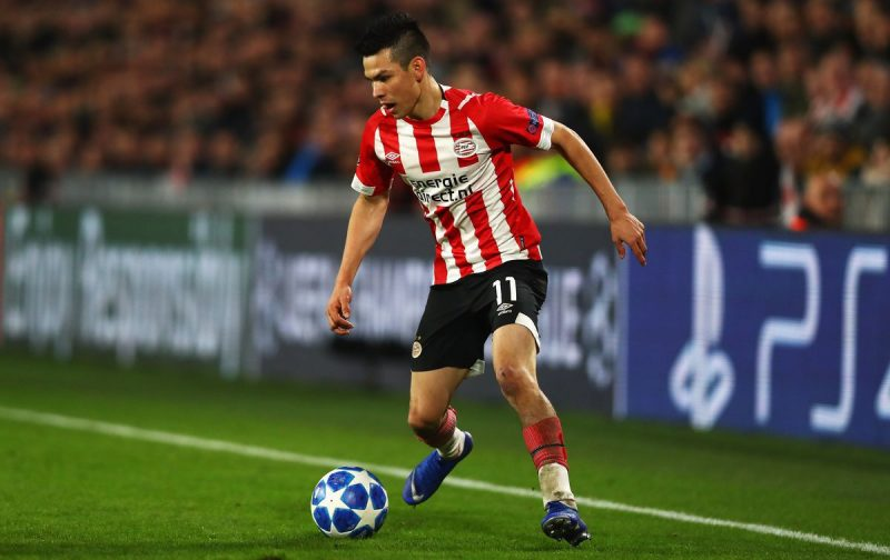 Napoli closing in on PSV star