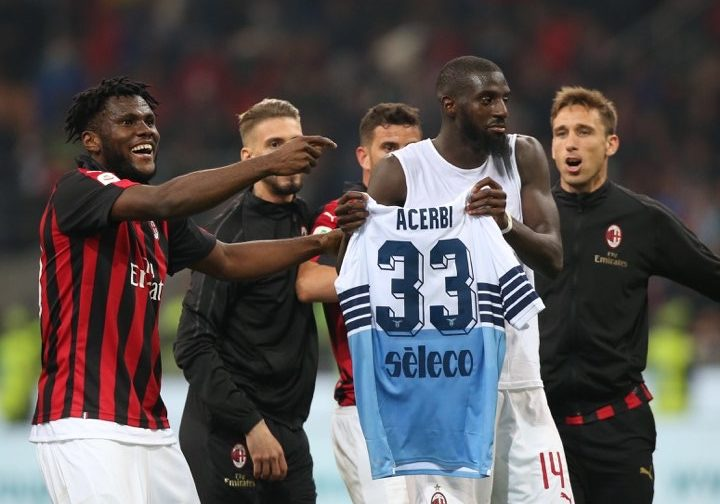 AC Milan leap to defence of Bakayoko and Kessie after Lazio furore
