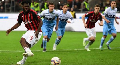 AC Milan grab vital win over Lazio