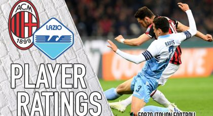 Lazio player ratings: Disastrous Durmisi costs Aquile dear