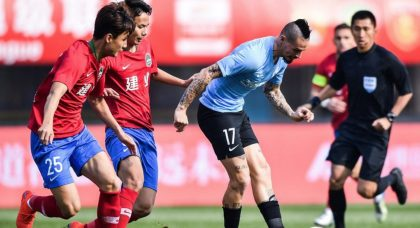 Former Napoli great struggling to settle in China