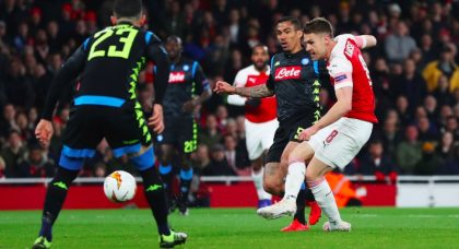 Arsenal extend Napoli's woes on English soil