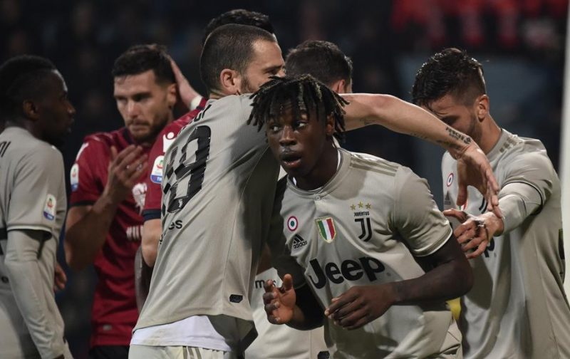 Bonucci rightly called out for bizarre and idiotic Kean criticism
