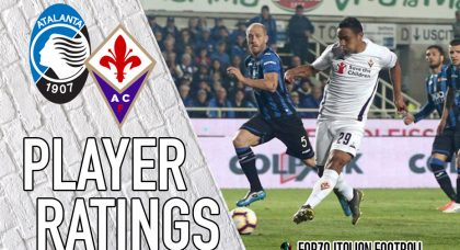 Fiorentina player ratings: Chiesa and Muriel not enough to stop Viola crashing out