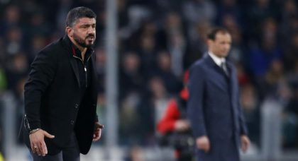 Napoli line up Gattuso as Ancelotti replacement
