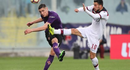 Fiorentina and Bologna share the points as Montella returns