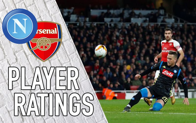 Napoli Player Ratings: A nightmare at the Emirates for Zielinski