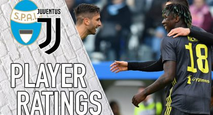 Juventus Player Ratings: Kean contributes as the Old Lady stumble