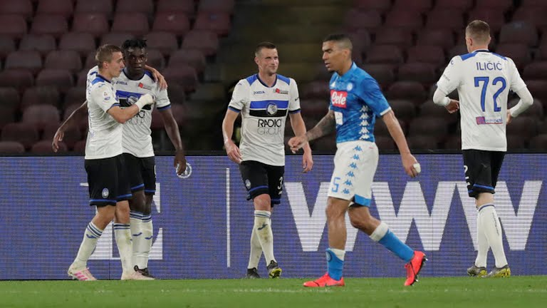 Atalanta clinch crucial comeback win at Napoli to keep in Champions League chase