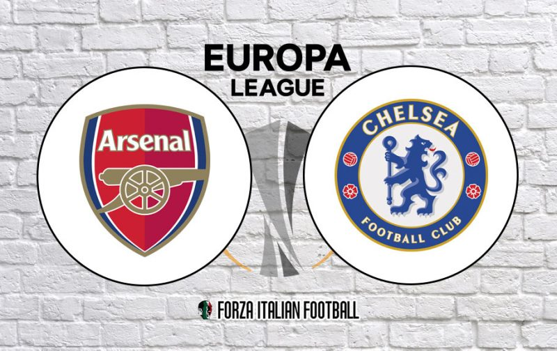 Chelsea v Arsenal – Official Europa League Final Line-Ups