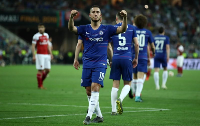 Magical Hazard sinks Arsenal as Chelsea claim Europa League glory