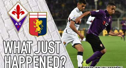 VIDEO: Fiorentina 0-0 Genoa – An embarrassing game, but job done for both