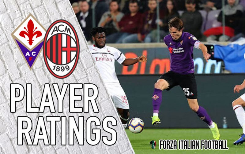 Fiorentina player ratings: Fernandes falters yet again