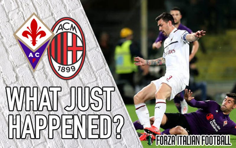 VIDEO: Fiorentina 0-1 AC Milan – Rossoneri become favourites for Champions League qualification
