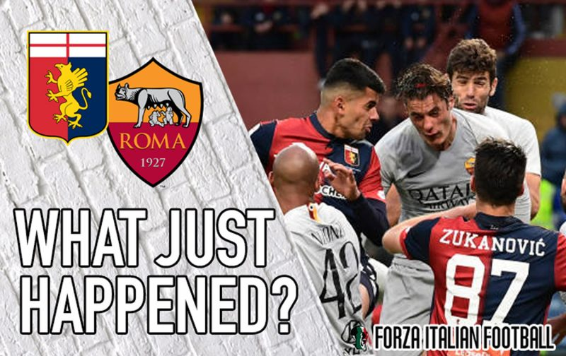 VIDEO: Genoa 1-1 Roma – Lucky to leave with something