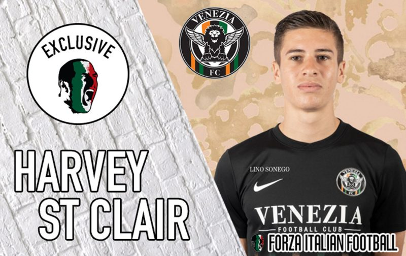 Exclusive interview with Venezia youngster Harvey St Clair