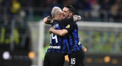 Inter see off ten-man Chievo to take back third