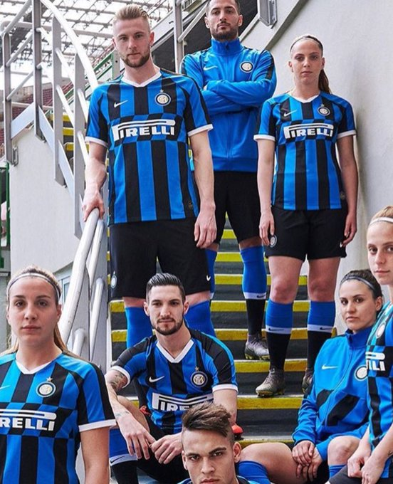 official photos d2134 4e29a Inter unveil new shirt with no Icardi in sight | Forza ...