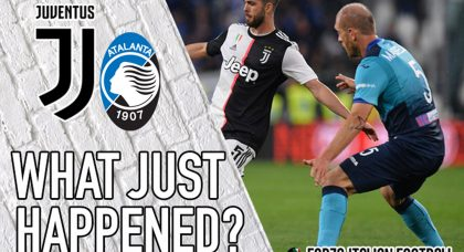 VIDEO: Juventus 1-1 Atalanta – Magical Masiello owns the Allianz
