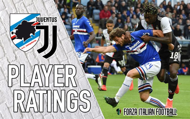 Juventus player ratings: Dybala disappoints in defeat