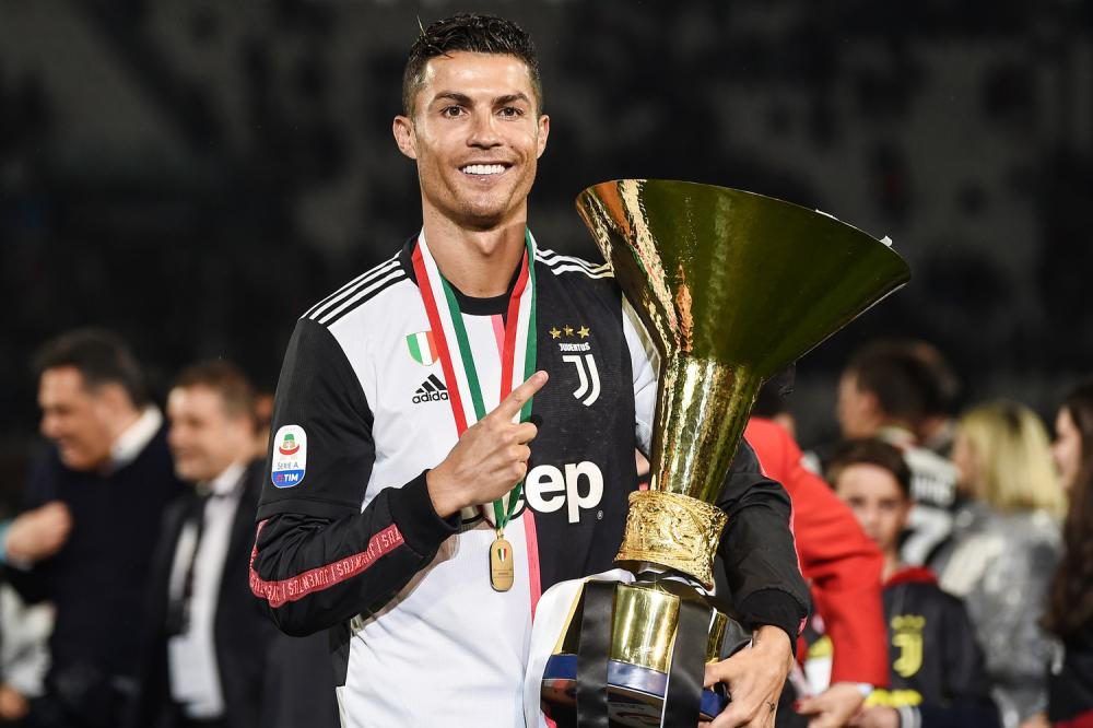 In Pictures Juventus Celebrate Eighth Consecutive Scudetto Forza Italian Football