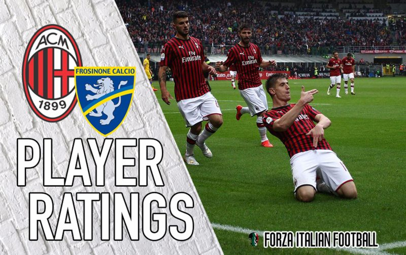 AC Milan player ratings: Piatek back amongst goals to rekindle Champions League hopes