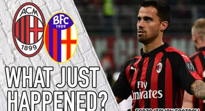 VIDEO: AC Milan 2-1 Bologna – Survived but at what cost?