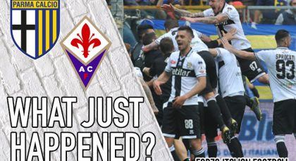 VIDEO: Parma 1-0 Fiorentina: Another season in Serie A for the Crociati