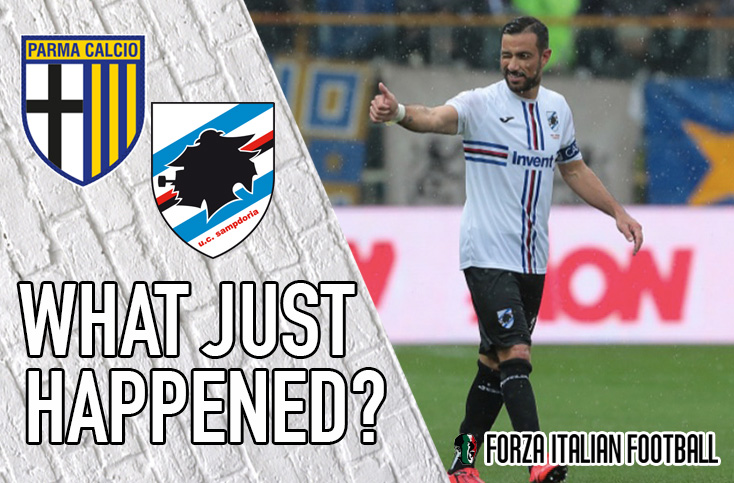 VIDEO: Parma 3-3 Sampdoria – Friendship honoured in memorable and action-packed game