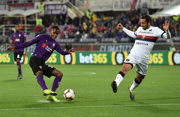 Fiorentina and Genoa share the points and avoid relegation to Serie B