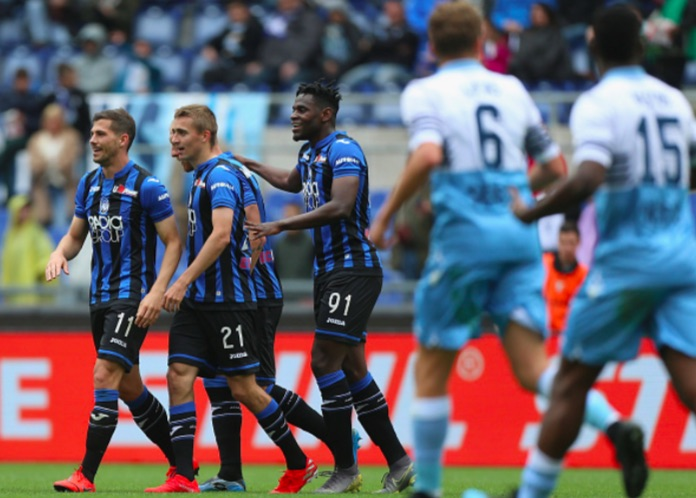 Atalanta stun Lazio in Rome to move towards Champions League dream