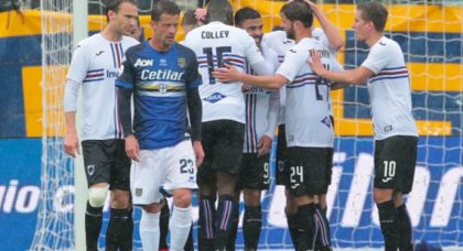 Quagliarella double not enough as Parma and Sampdoria share points in Tardini thriller
