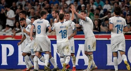 Italy make light work of Greece to maintain perfect start