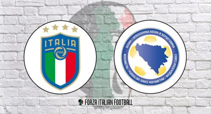 Euro 2020 Qualifiers LIVE: Italy v Bosnia and Herzegovina