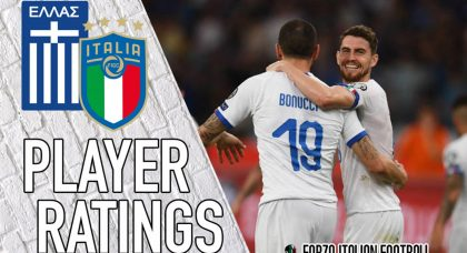 Italy Player Ratings: Midfield control and inspired Insigne