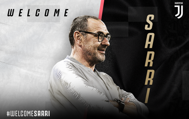 Juventus officially appoint Sarri as new coach