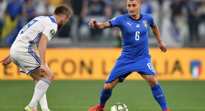 Italy trio ruled out for Euro 2020 qualifiers