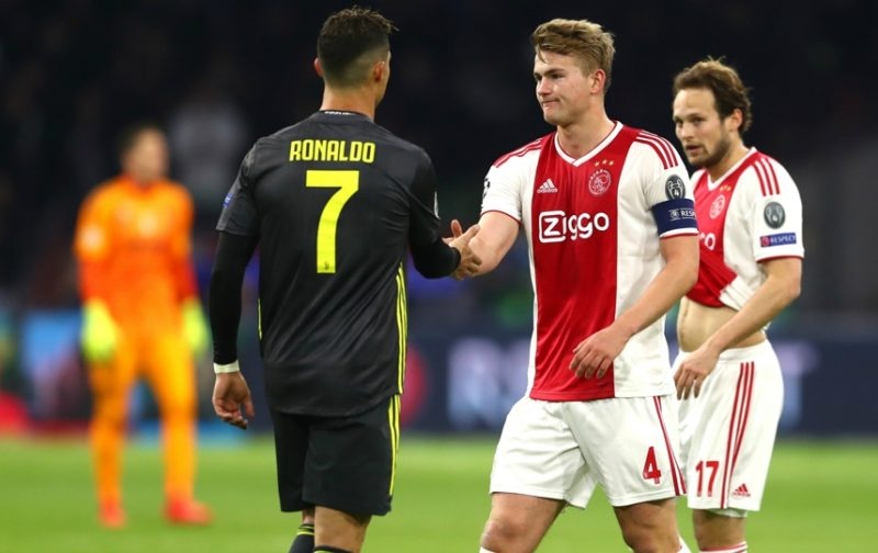 De Ligt: Cristiano Ronaldo told me to join him at Juventus