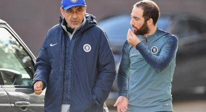 Sarri plans to take Chelsea pair with him to Juventus