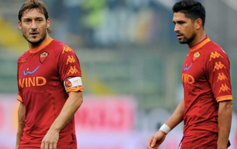 Borriello: Totti has been offered a playing contract in England