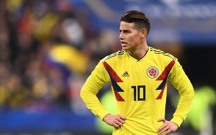 De Laurentiis: James wants to play for Napoli but Real Madrid want too much