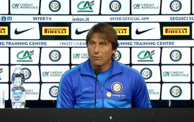 Conte warns Inter against overconfidence