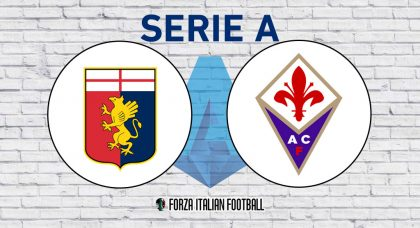 Genoa v Fiorentina – Probable Formations and Key Statistics