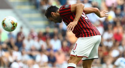 AC Milan get their heads together