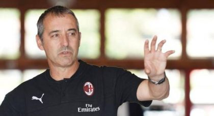 Giampaolo opts to drop AC Milan system after one game